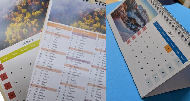 QUOI !? 😱 Des calendriers personnalisés à ce prix là !? Ce serait fou de passer à coté !🤩